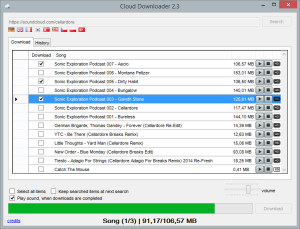 Cloud Downloader Version 2.3