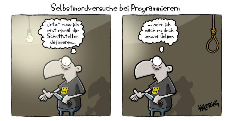Programmierer Suizid