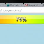 JavaScript Progressbar