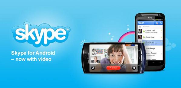 Skype für Android jetzt mit Video, nicht!