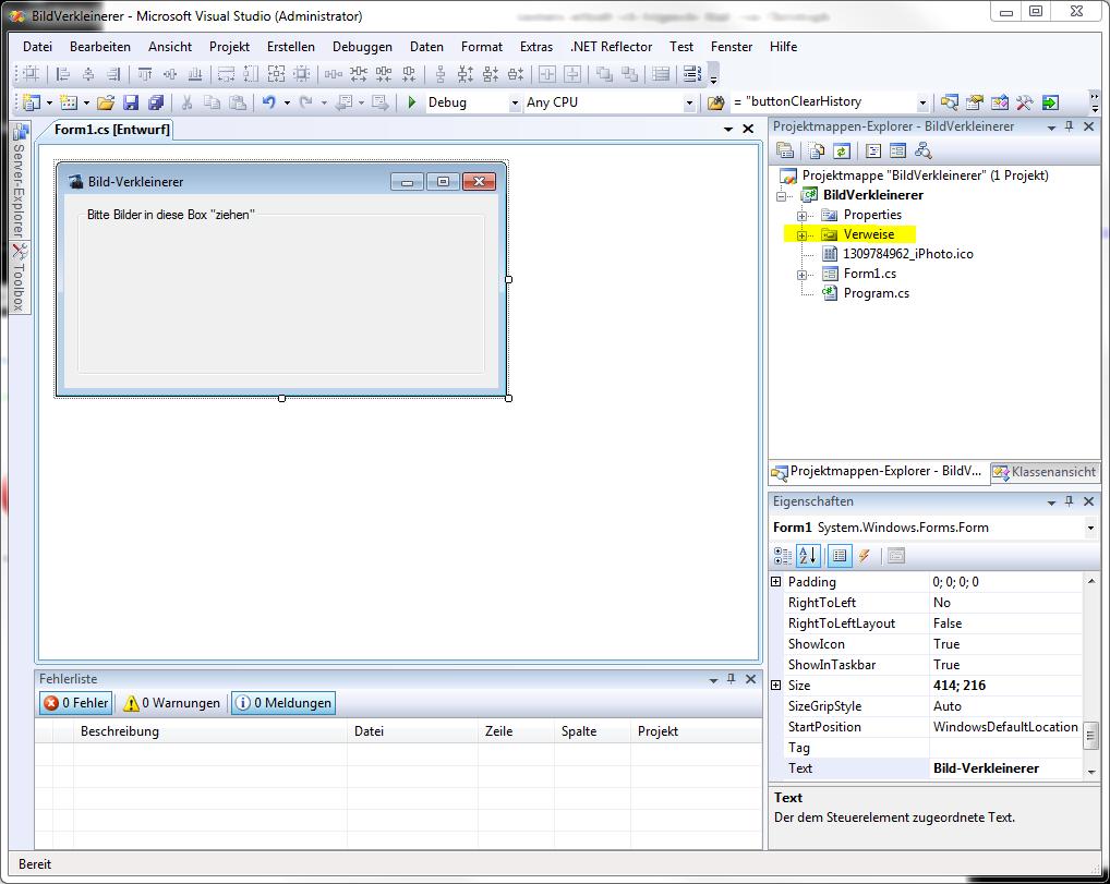 Dlls in Visual Studio C# Projekte einbinden