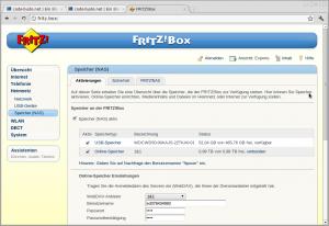 fritzbox nas 300x206 Musik auf Android Geräte streamen