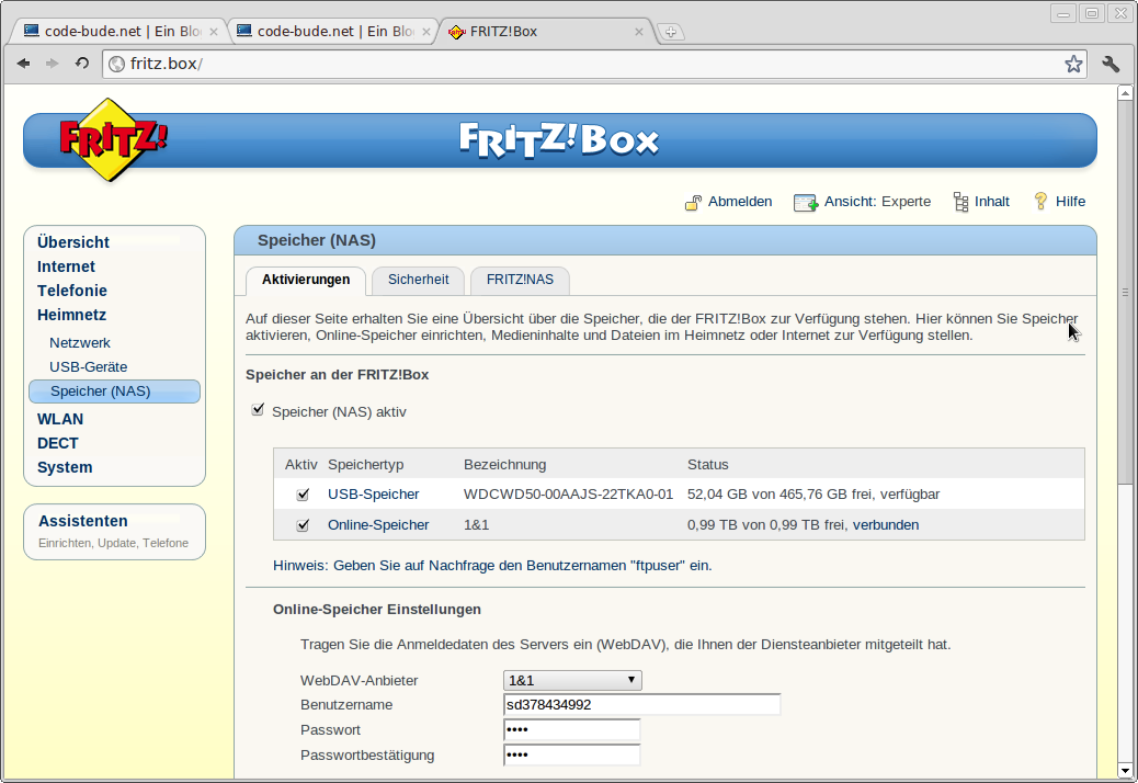 How to stream music from your router to your android devices - Fritzbox 7330 login ...