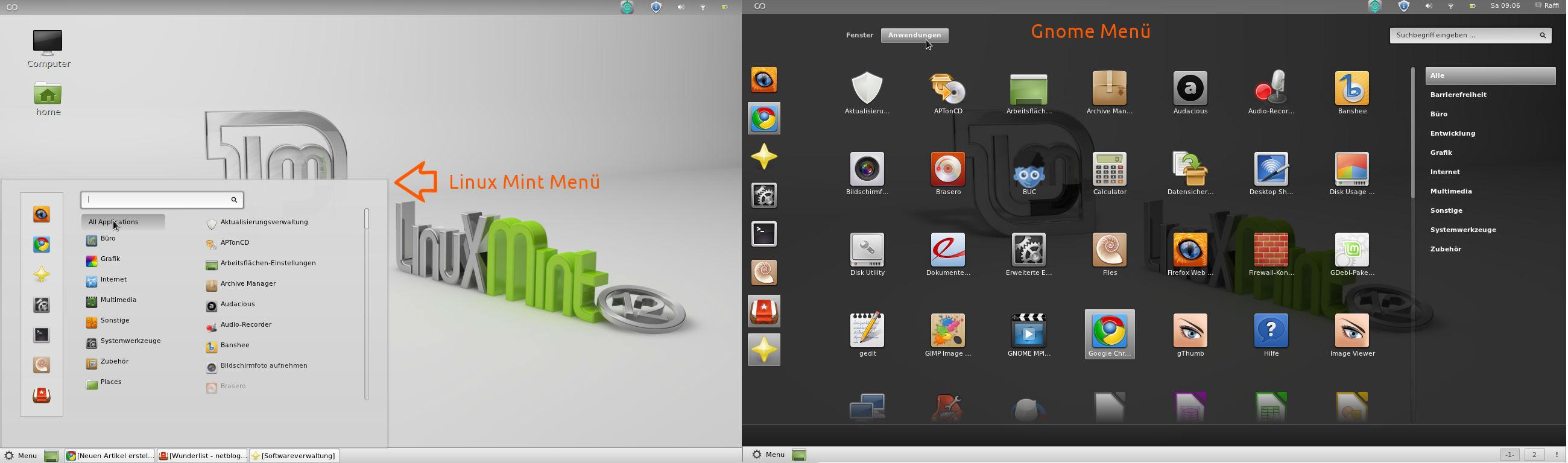 How To Edit Linux Mint Start Menu