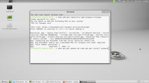 Synapse für Linux installieren