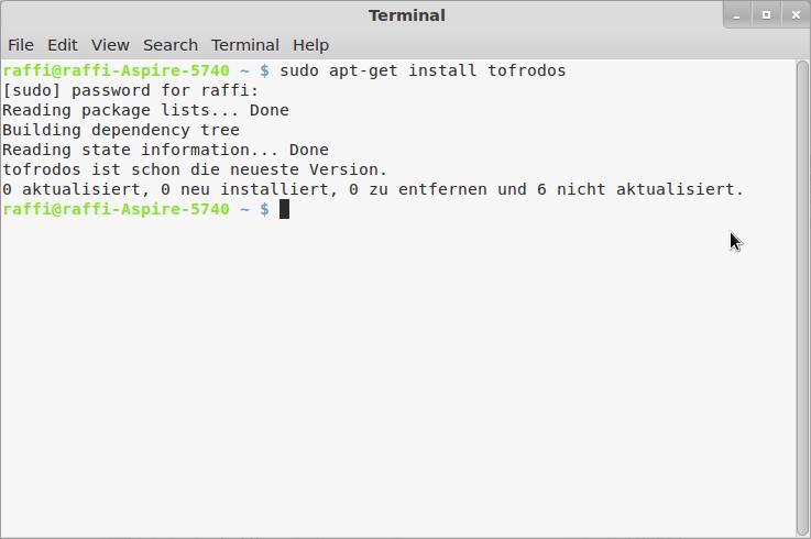 Bash Scripte werden nicht ausgeführt unter Linux Mint