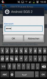 Fritz!App Einstellungen
