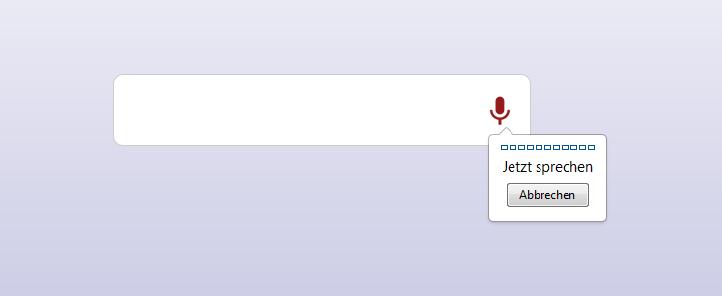 Tutorial: Spracherkennung für jede Webseite mit HTML5