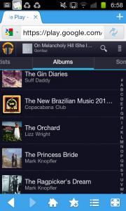 Google Play Music Webapp 1