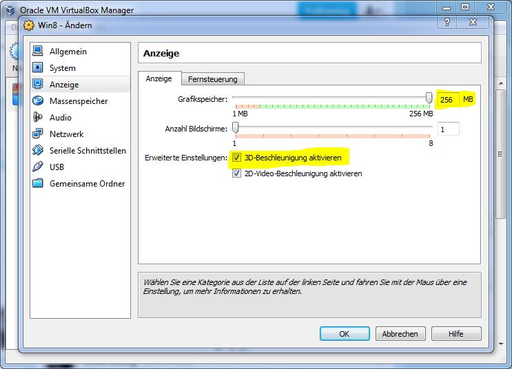 Neue VirtualBox und Gasterweiterungen für Windows 8 erschienen