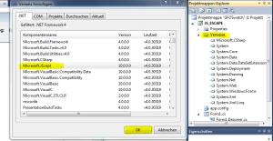 microsoft jscript verweis hinzufügen
