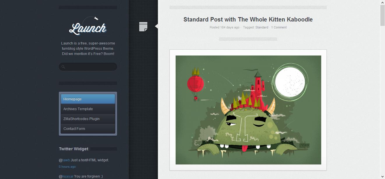 Die schönsten kostenlosen WordPress Themes in 2012