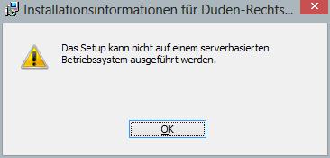 Anleitung: Duden Korrektor Plus 8.0 unter Windows 8 installieren