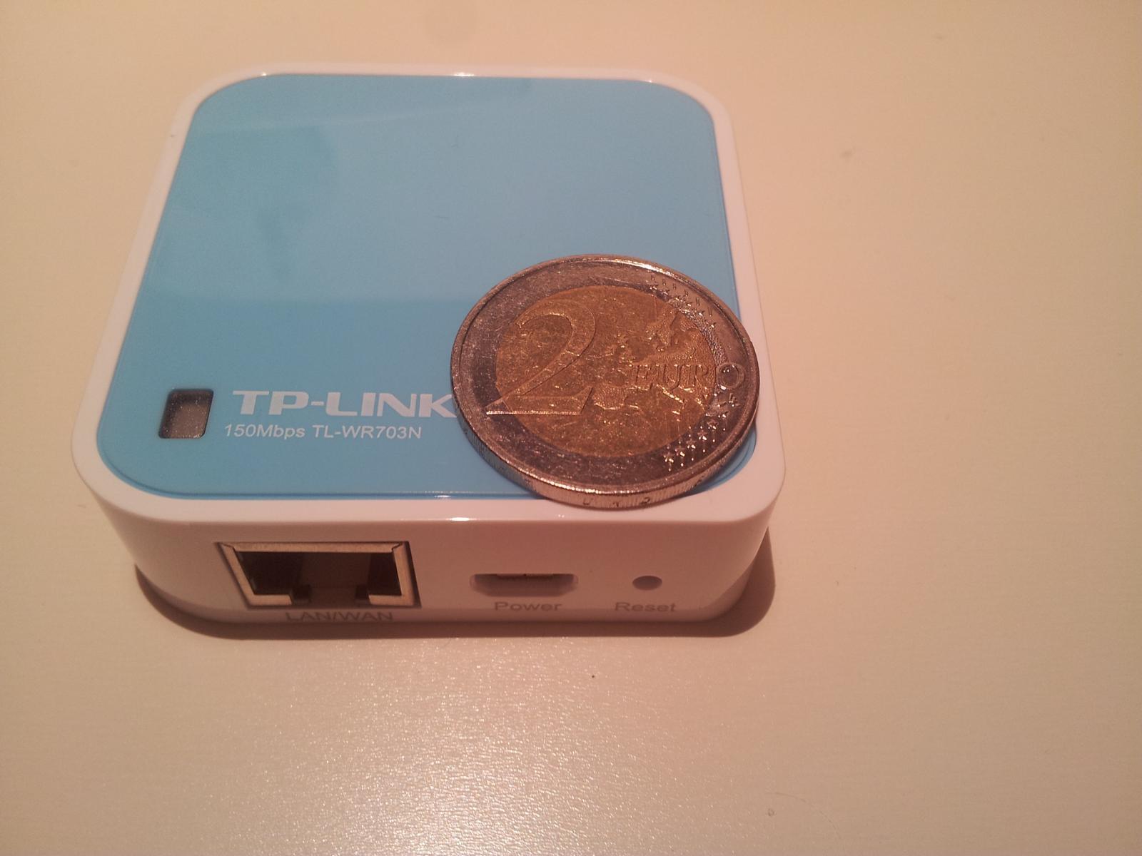 Anleitung: 20€ OpenWrt Router – OpenWrt auf TP-Link WR703N flashen