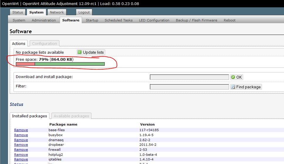 TP-Link WR703N Speicher erweitern mit OpenWRT ExtRoot | code