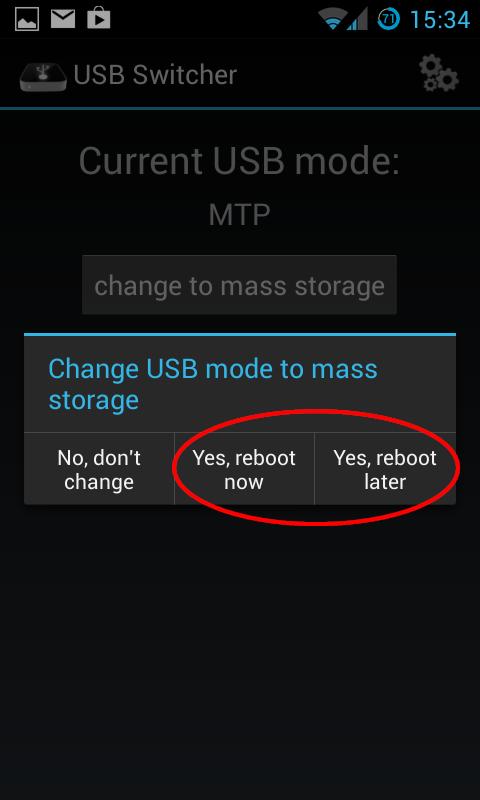 Usb Massenspeicher Und Usb Debugging Unter Cyanogenmod 10