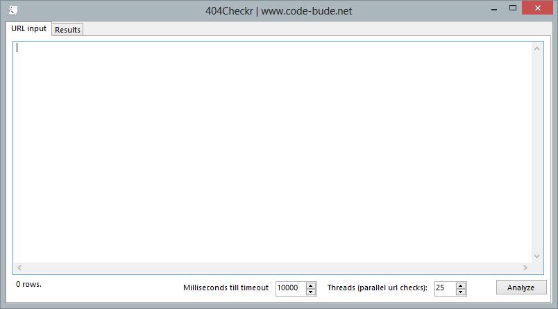 404Checkr – Links automatisch auf Gültigkeit testen