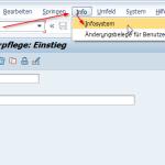 SU01 Benutzerinformationssystem