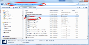 Visual Studio 2012 Express Proxyserver