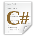 C# Sourcecode Icon