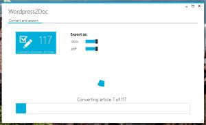 Wordpress2Doc Konvertierung