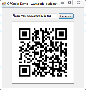 qrcoder demo 480x480 Downloads