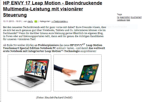 probierpioniere hp envy leap motion