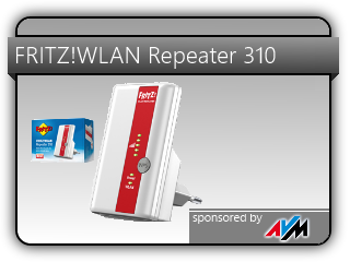 avm fritz wlan repeater 310