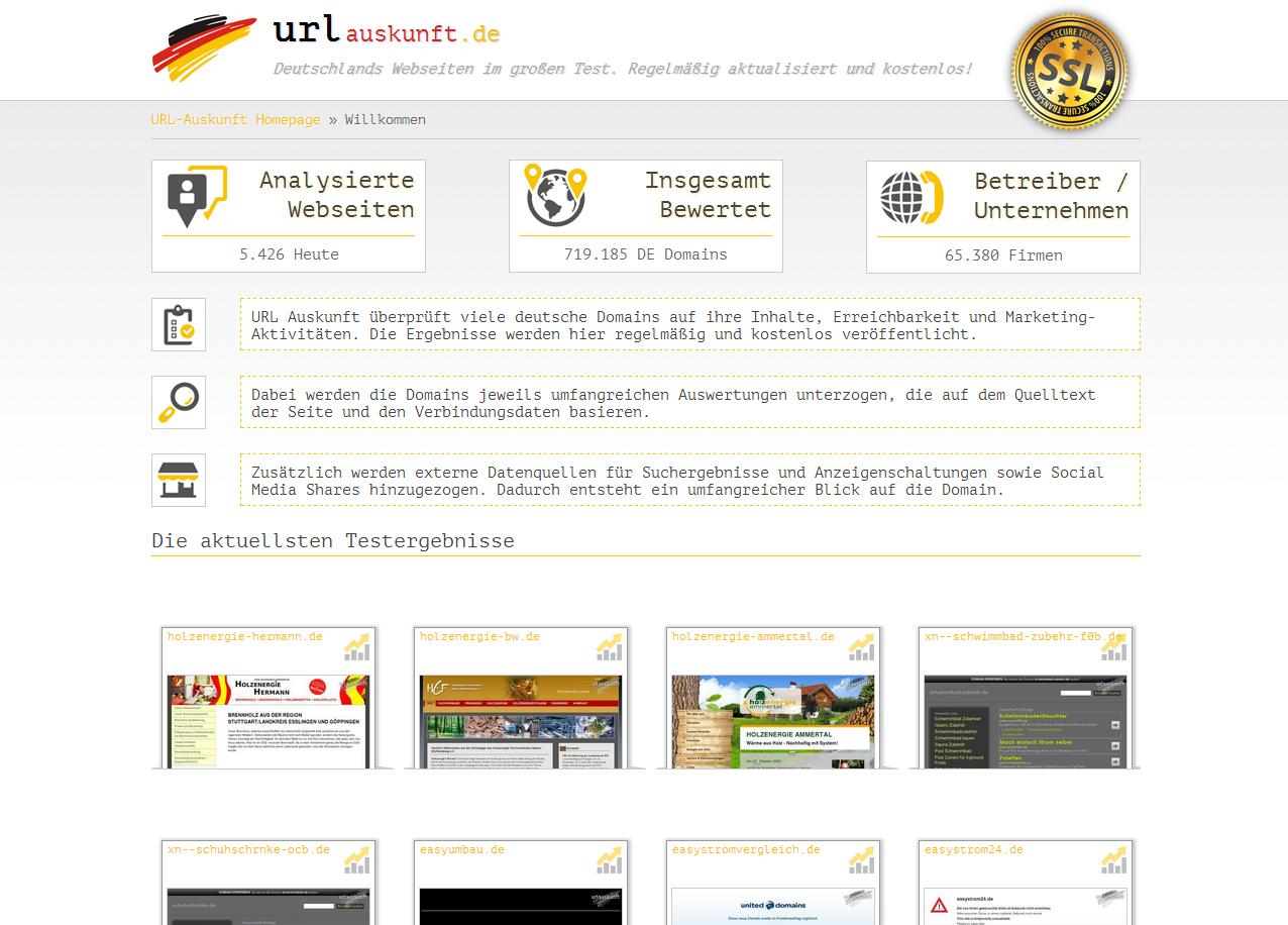 Webseiten kostenlos analysieren und optimieren