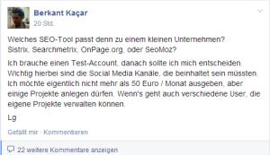 facebook onpagedoc frage
