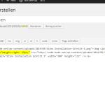 Wordpress klassichen Bildeditor wiederherstellen - Wie funktioniert es
