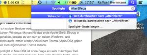 Mac OSX Spotlight Index neu erstellen