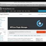WPCore - WordPress Plugin im Verzeichnis