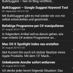 eezzy - App - RSS