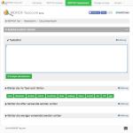 WDFIDF Texteditor - Start