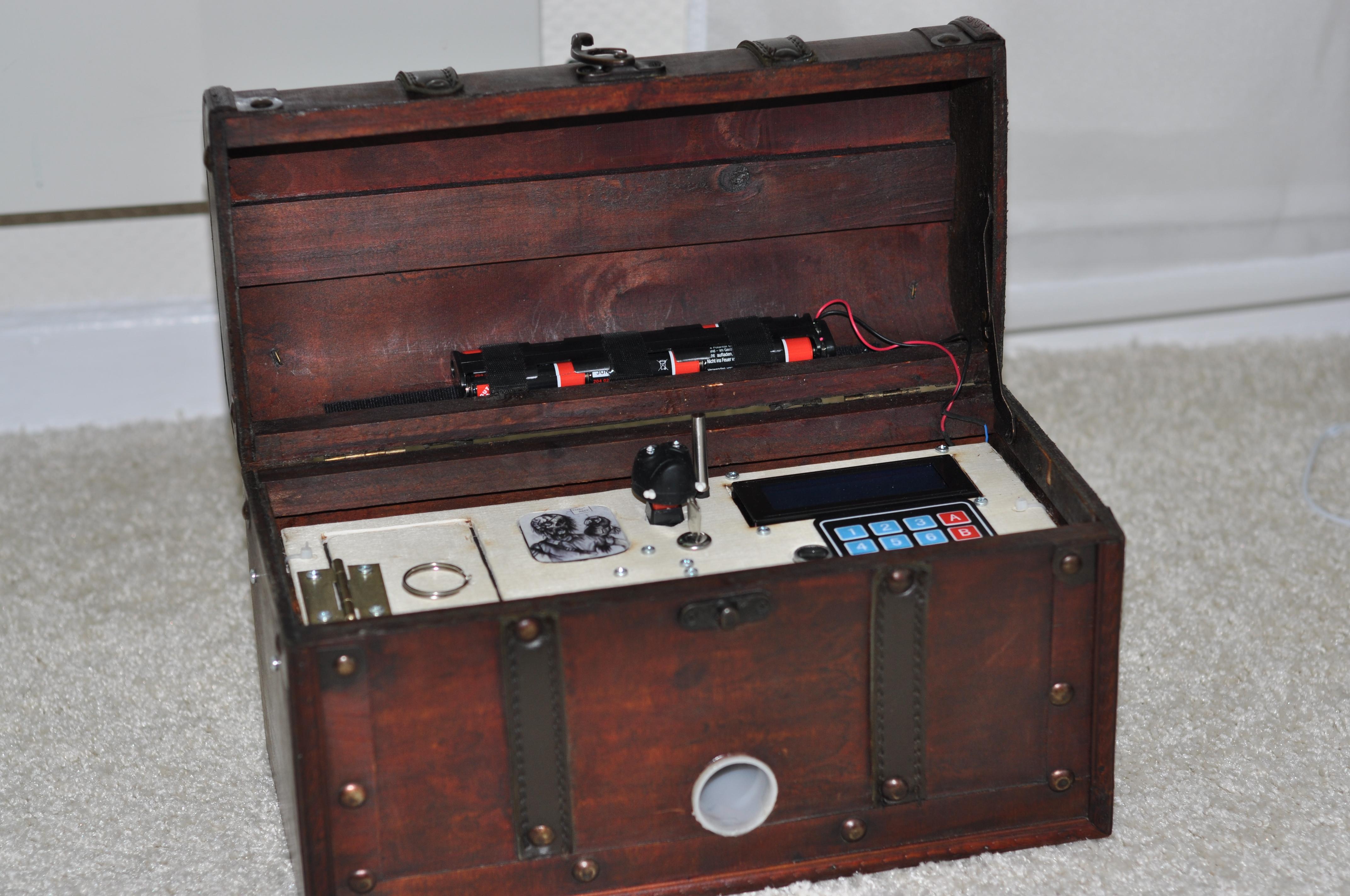 Captain Herrmano's Mystery Box – ein Reverse-Geocache