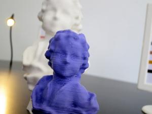 Skulptur aus dem 3D-Drucker
