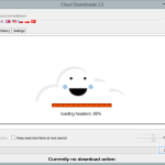 Cloud Downloader 2.5 - Search load header information