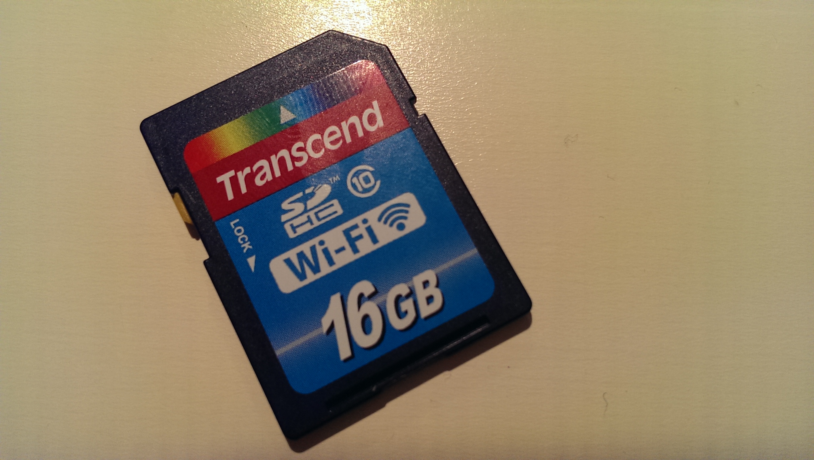 Transcend Wi-Fi SD-Karte mit C# auslesen