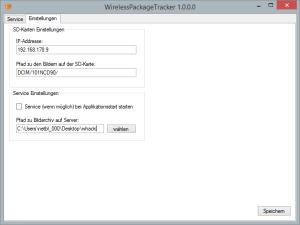 Wifi-Tracker Settings