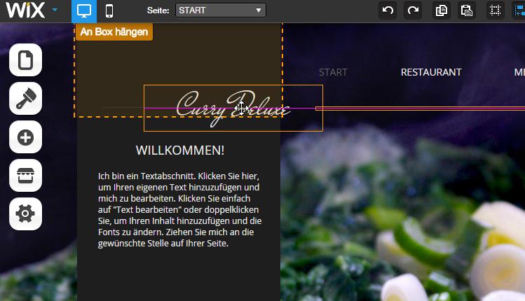 Test: WIX – Kostenloser Homepage-Baukasten