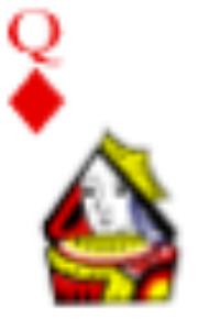 Zuschnitt der Spielkarte