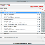 Cloud Downloader 2.6 - Shopping