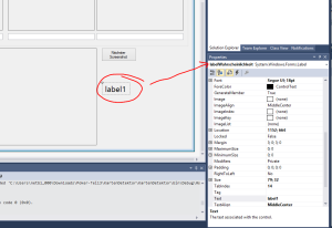 KartenDetektor Label in WinForms
