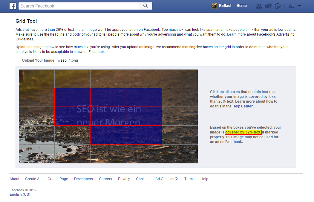 20%-Regel in Facebook-Ads umgehen