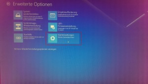 Windows 10 unsignierte Treiber - Optionsmenü (3)