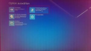 Windows 10 unsignierte Treiber - Optionsmenü (1)