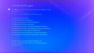 Windows 10 unsignierte Treiber - Optionsmenü (5)