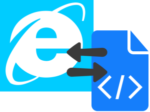 Switch Editor in Internet Explorer