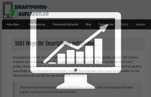 Smartphone-aufladen-Nischencamp-Erfolg